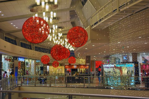 Christmas decorations for shopping centres