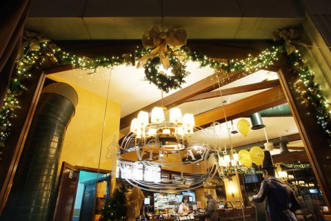 decoracion navideña restaurantes, franquicias y cadenas